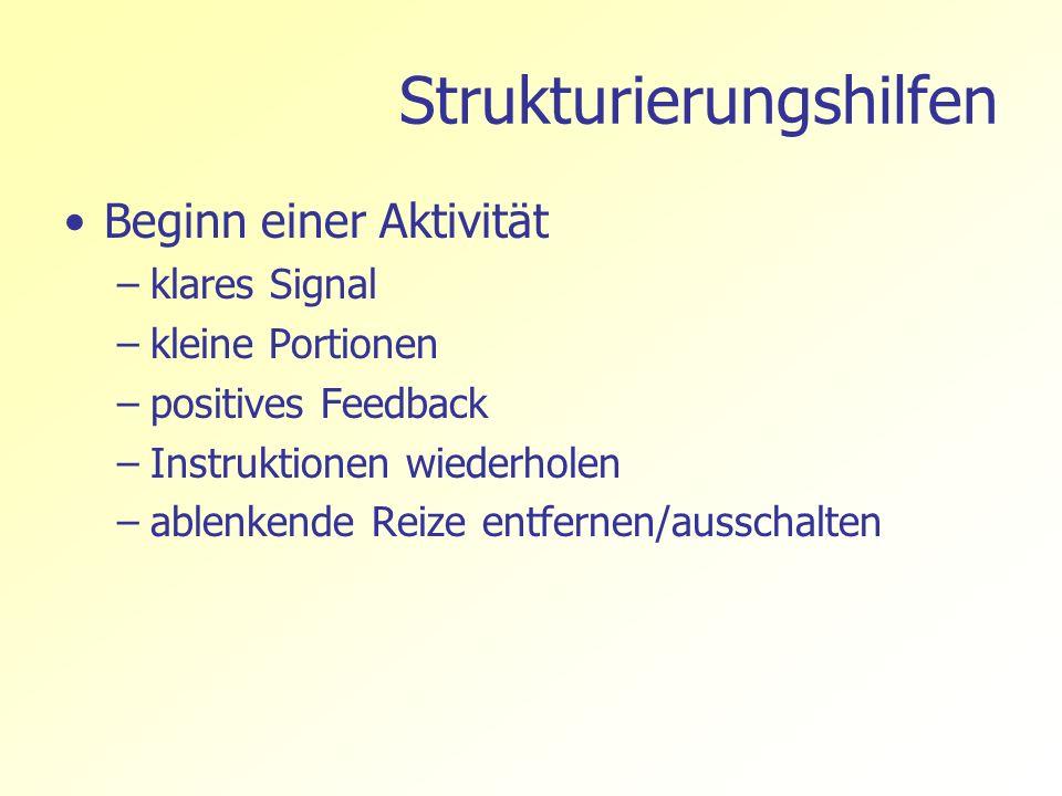 Strukturierungshilfen