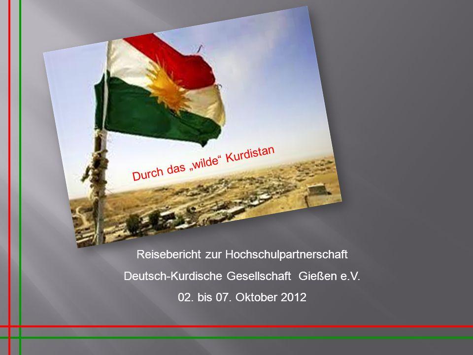 """Durch das """"wilde Kurdistan"""