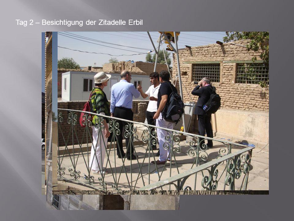 Tag 2 – Besichtigung der Zitadelle Erbil