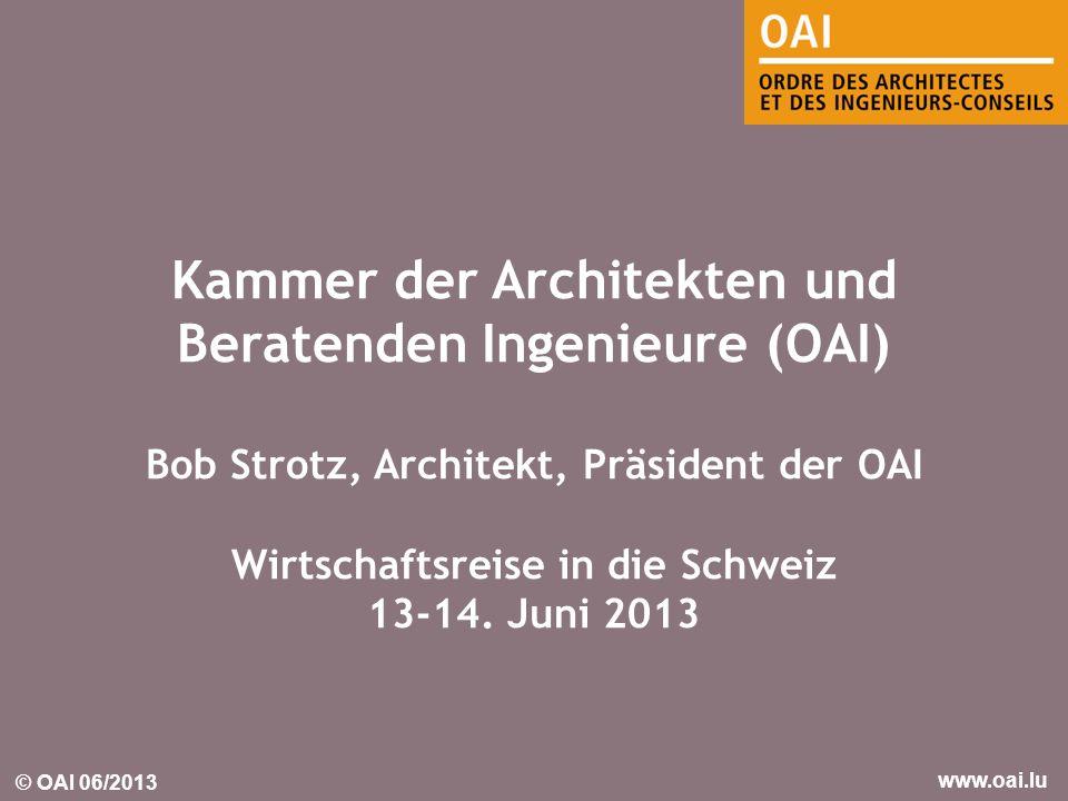 Kammer der Architekten und Beratenden Ingenieure (OAI)