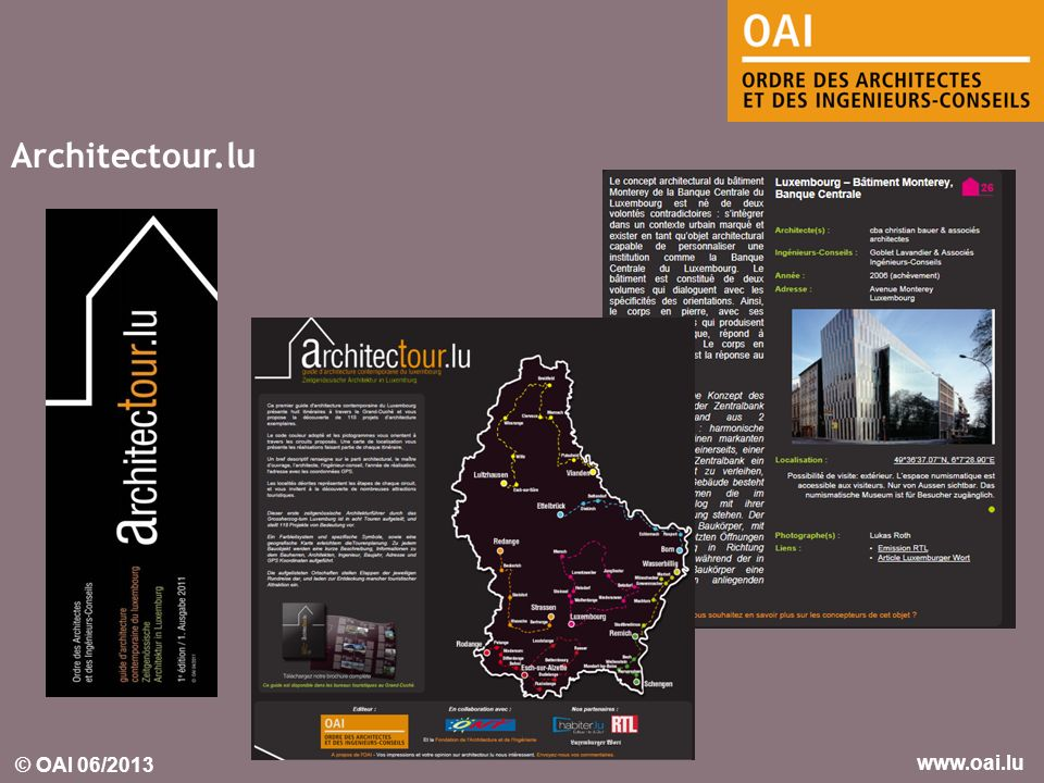 Architectour.lu
