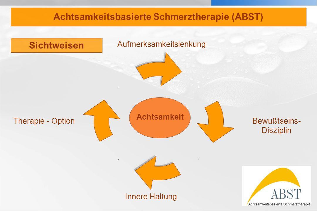 Achtsamkeitsbasierte Schmerztherapie (ABST)