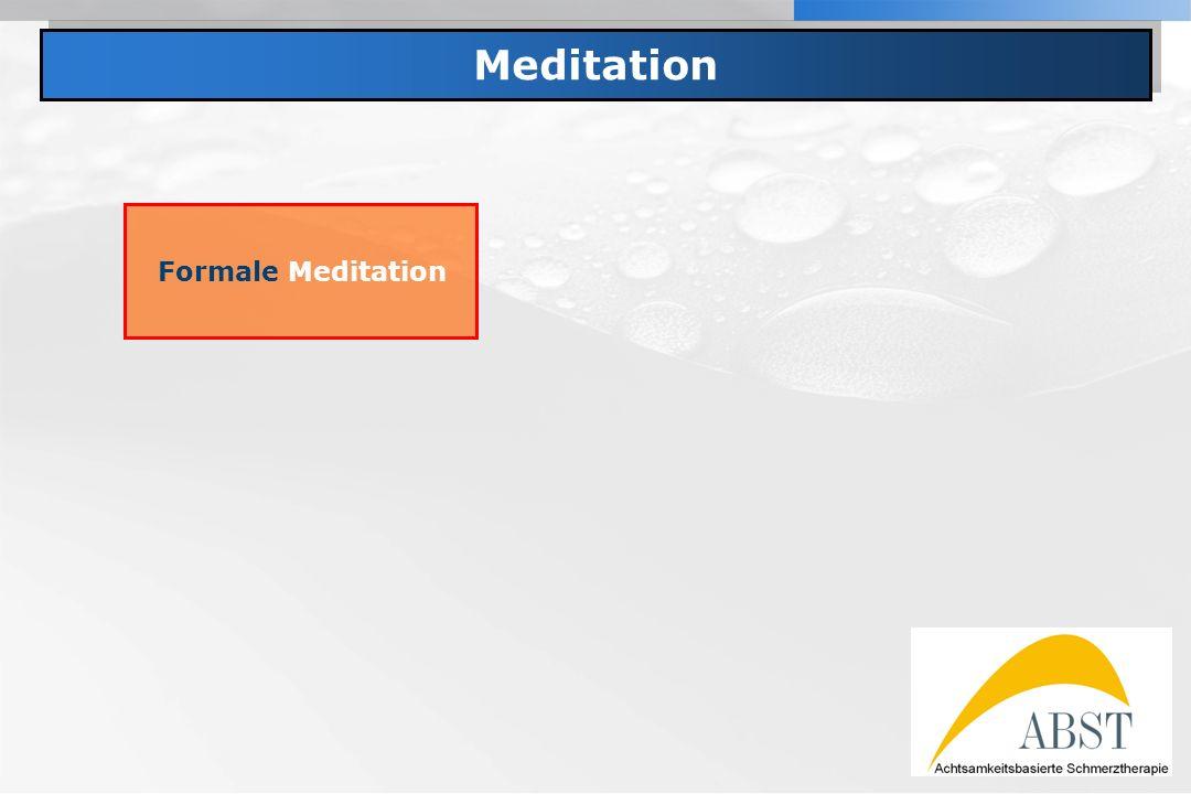 Meditation Formale Meditation
