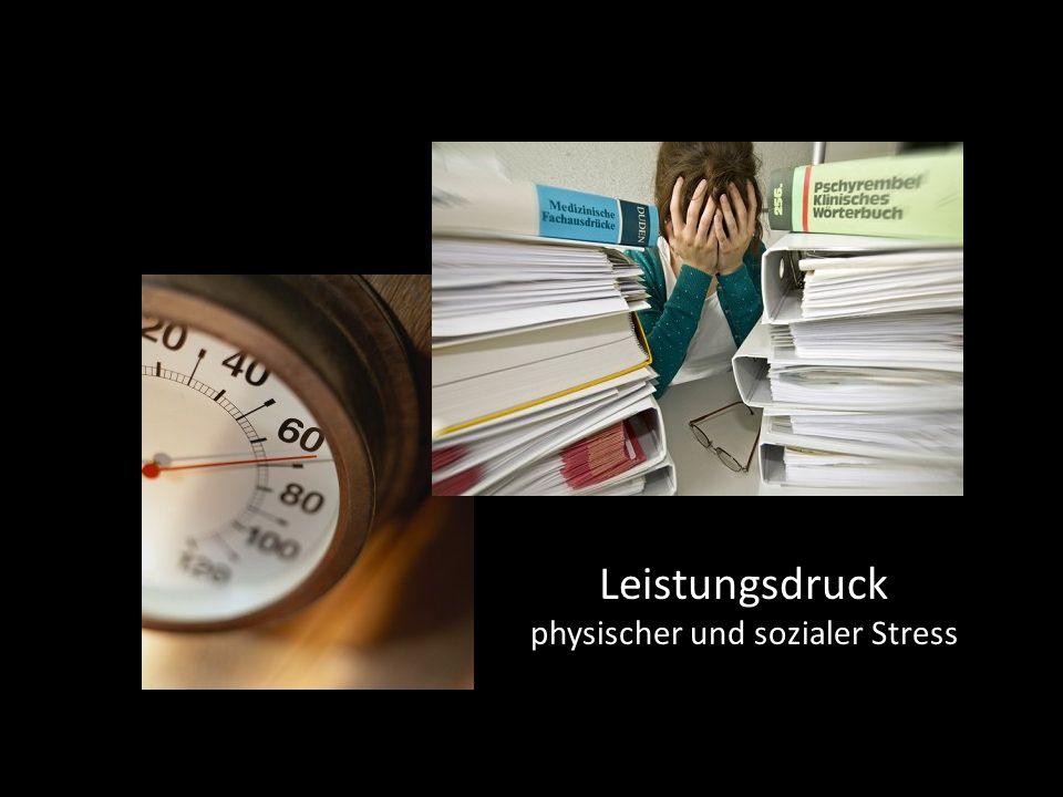 physischer und sozialer Stress