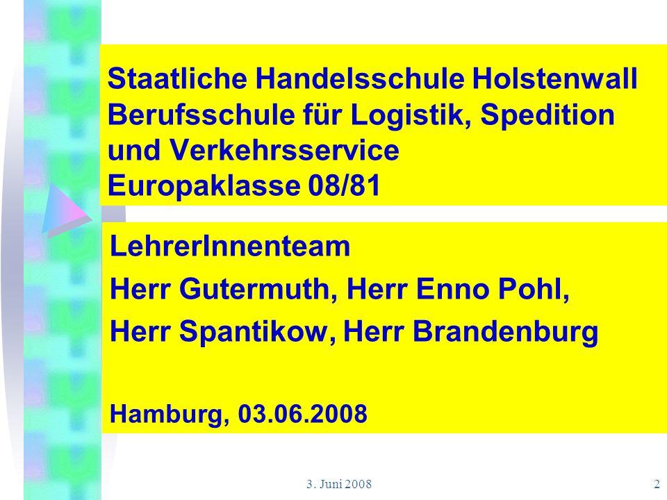 Herr Gutermuth, Herr Enno Pohl, Herr Spantikow, Herr Brandenburg