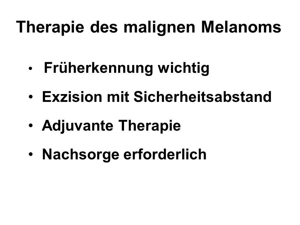 Therapie des malignen Melanoms