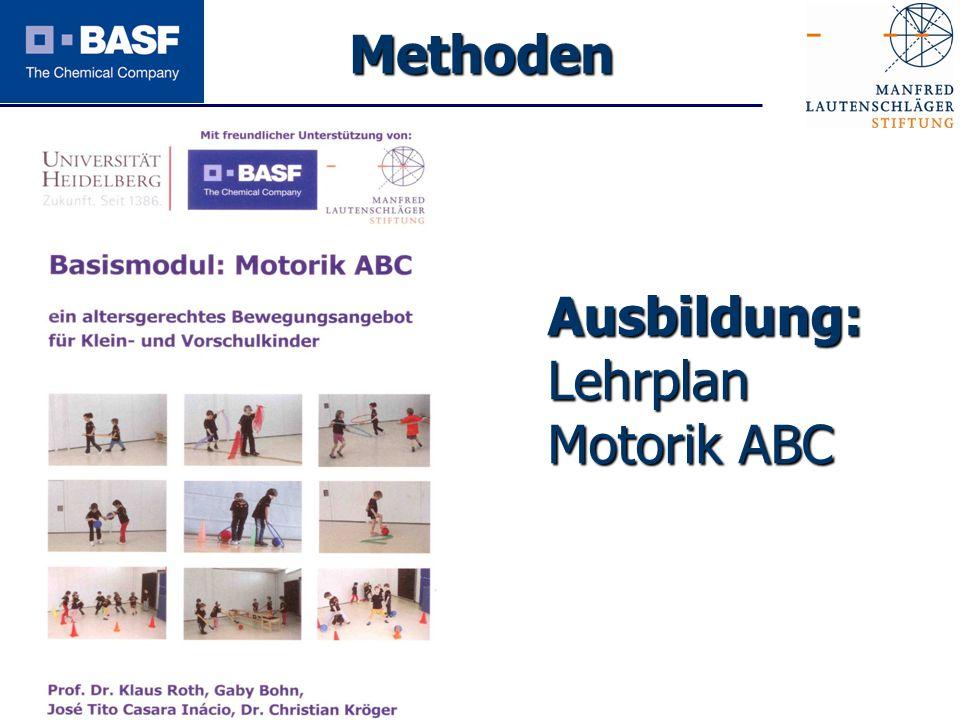 Methoden Ausbildung: Lehrplan Motorik ABC