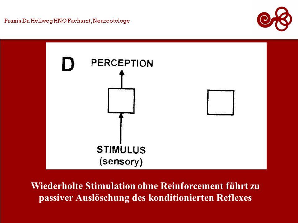 Wiederholte Stimulation ohne Reinforcement führt zu