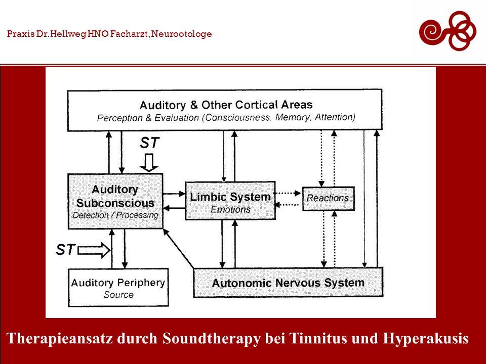 Therapieansatz durch Soundtherapy bei Tinnitus und Hyperakusis
