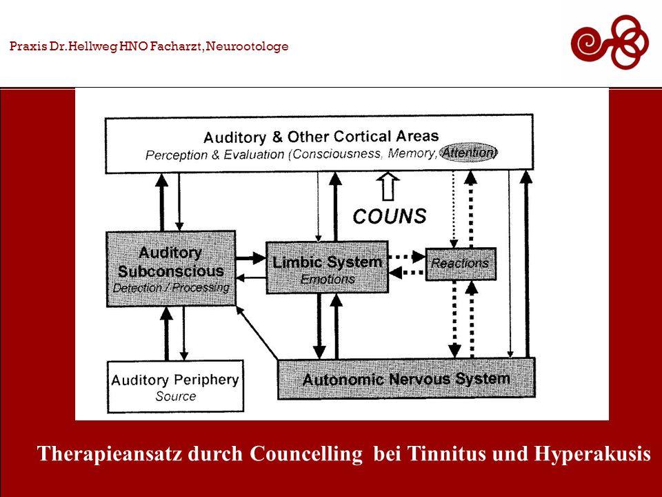 Therapieansatz durch Councelling bei Tinnitus und Hyperakusis