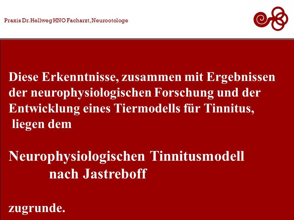 Neurophysiologischen Tinnitusmodell nach Jastreboff