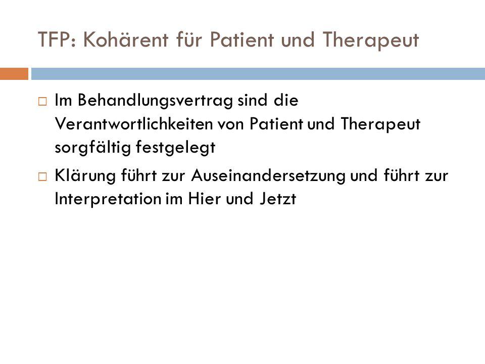 TFP: Kohärent für Patient und Therapeut