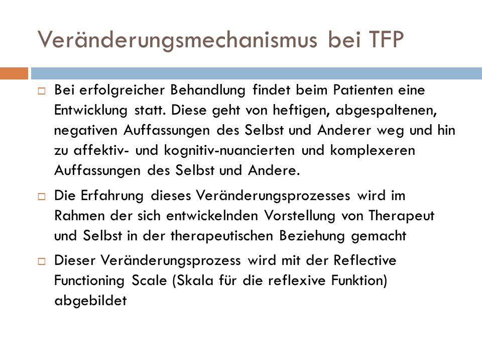 Veränderungsmechanismus bei TFP