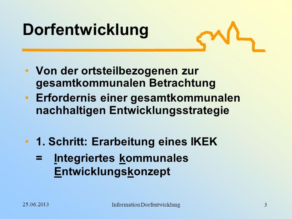 Information Dorfentwicklung