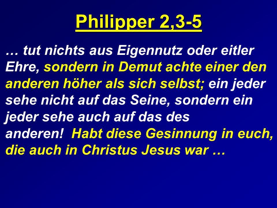 Philipper 2,3-5