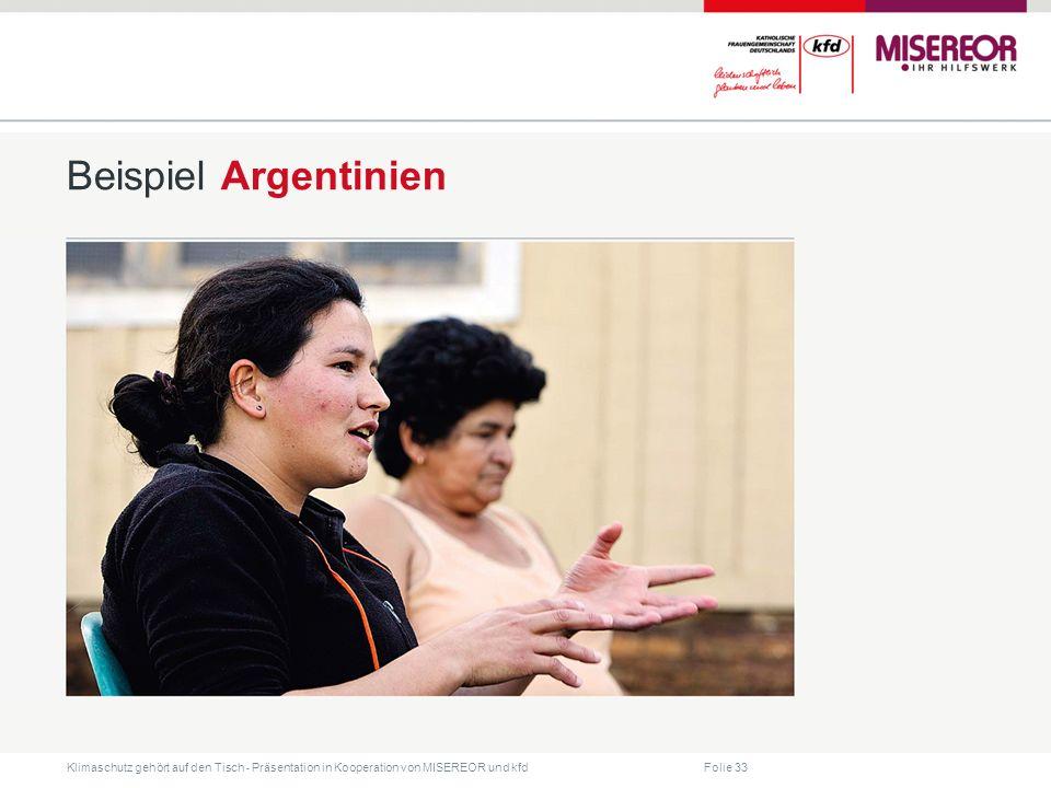 Beispiel Argentinien