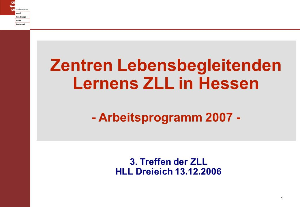 Zentren Lebensbegleitenden Lernens ZLL in Hessen