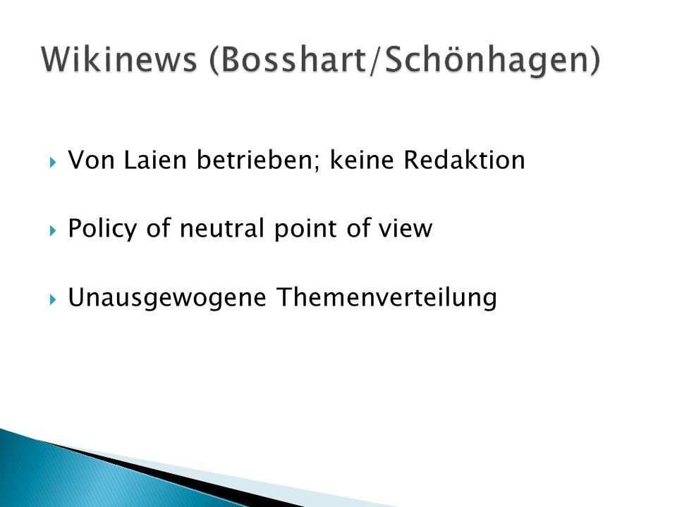 Wikinews (Bosshart/Schönhagen)