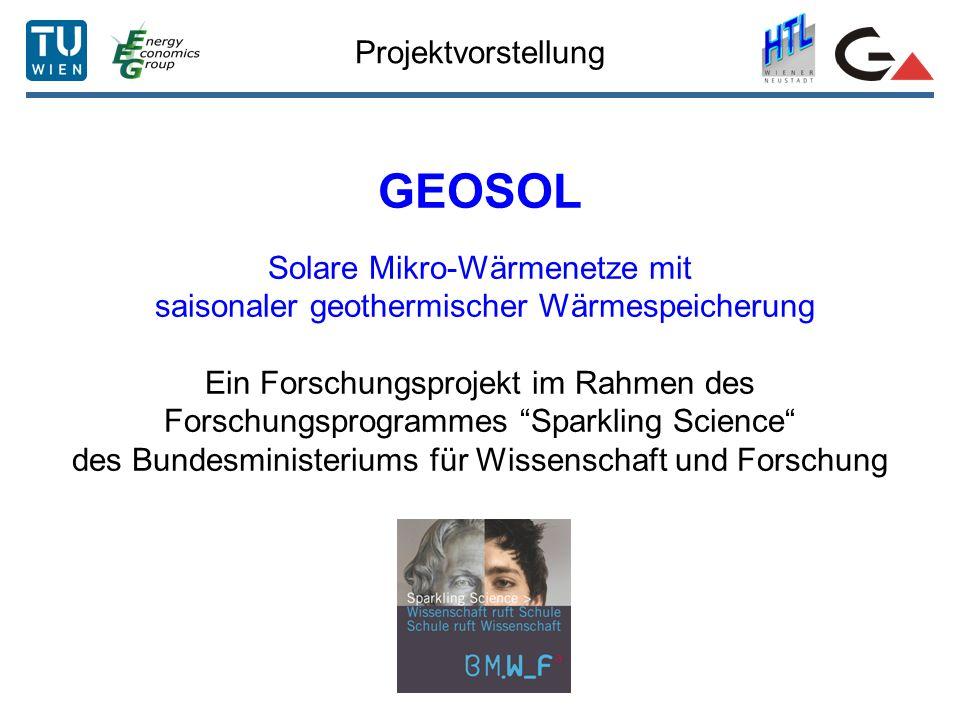 GEOSOL Projektvorstellung Solare Mikro-Wärmenetze mit