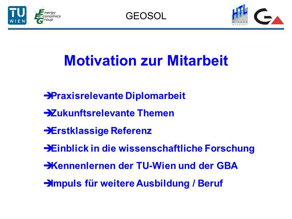 Motivation zur Mitarbeit