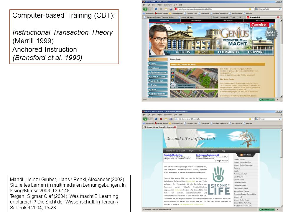 Computer-based Training (CBT):