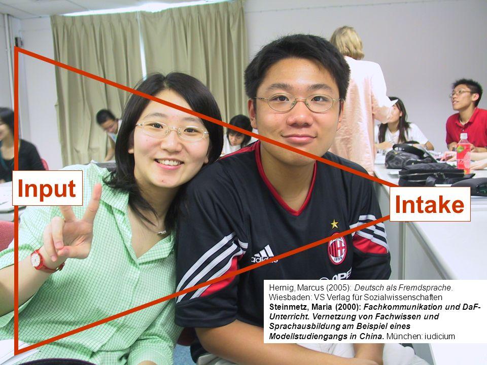 Input Intake 12./13.12.2008 Hess/Chaudhuri