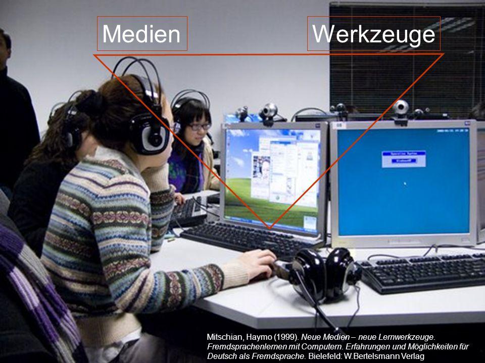 Medien Werkzeuge 12./13.12.2008 Hess/Chaudhuri