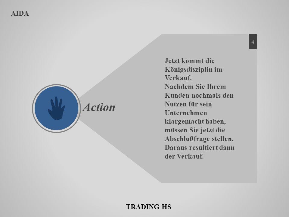 Action AIDA Jetzt kommt die Königsdisziplin im Verkauf.
