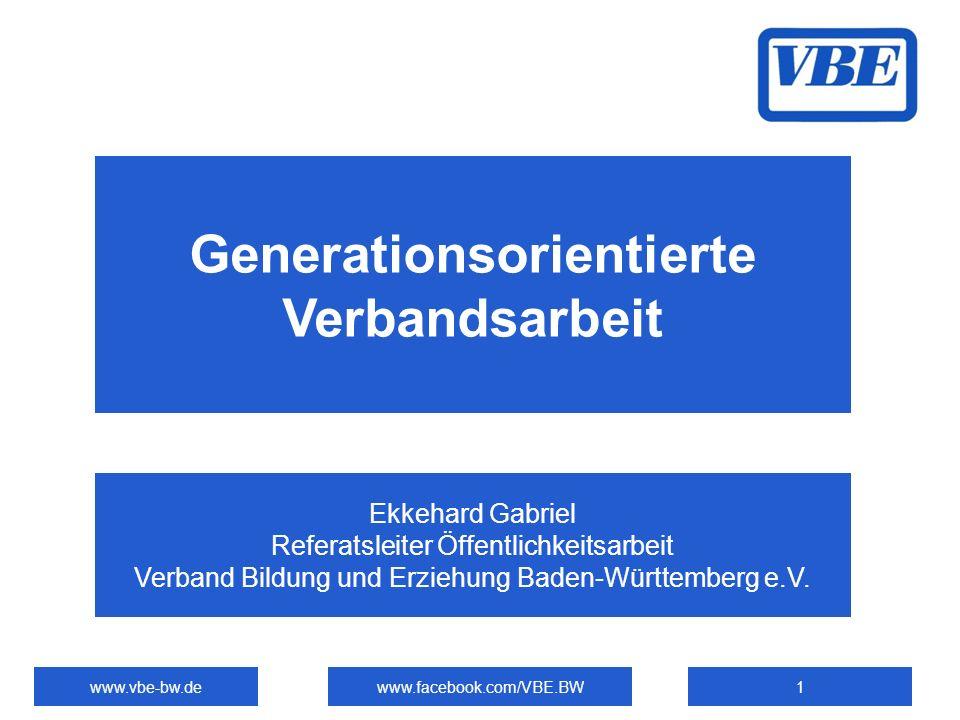 Generationsorientierte Verbandsarbeit