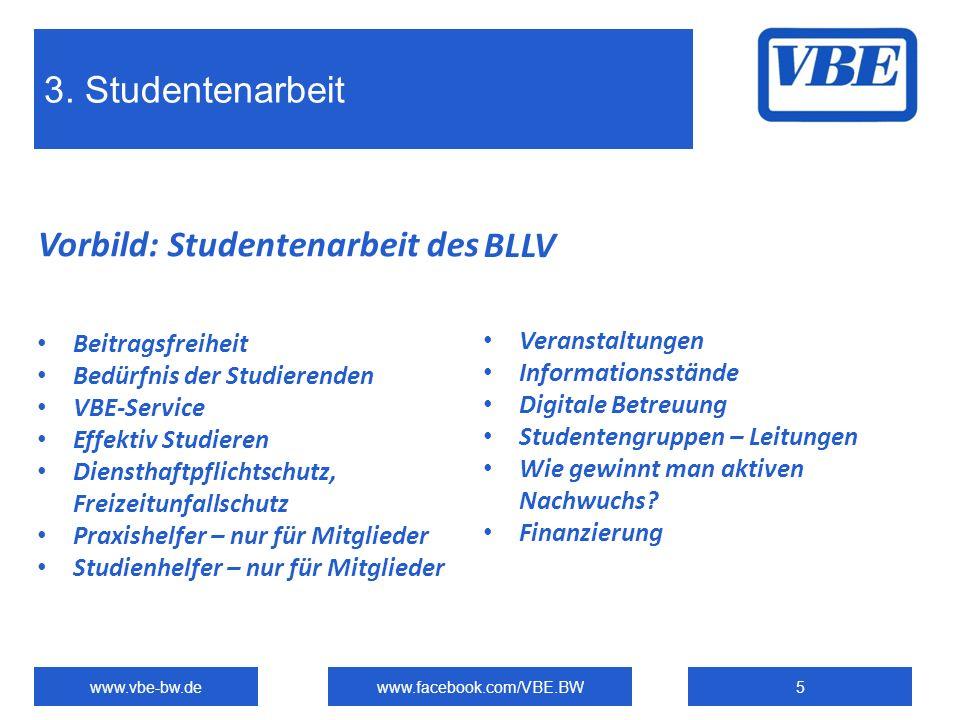 Vorbild: Studentenarbeit des BLLV