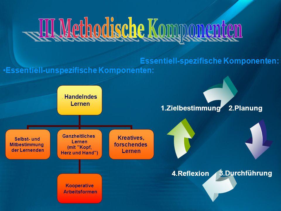 III Methodische Komponenten