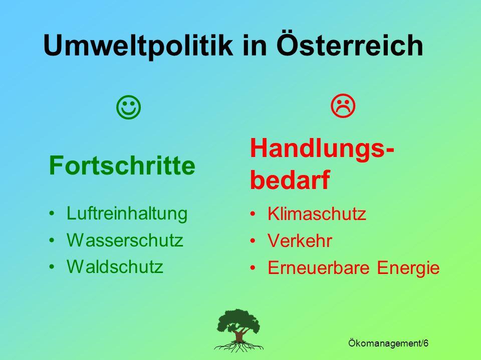 Umweltpolitik in Österreich