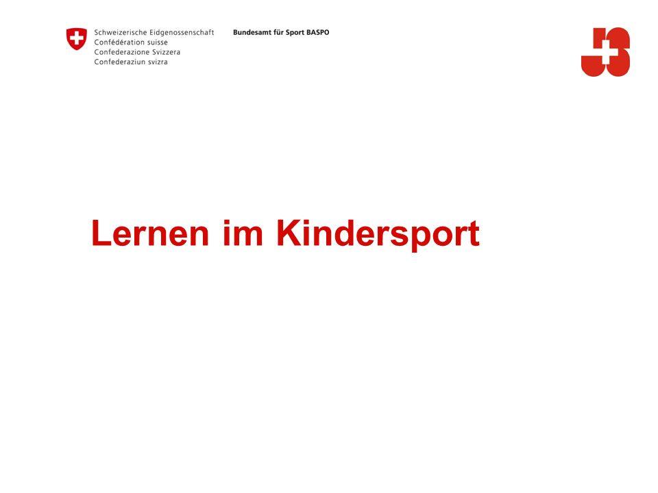Lernen im Kindersport A