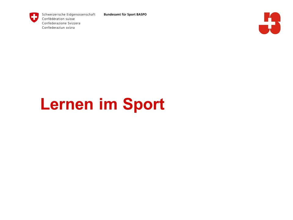 Lernen im Sport A