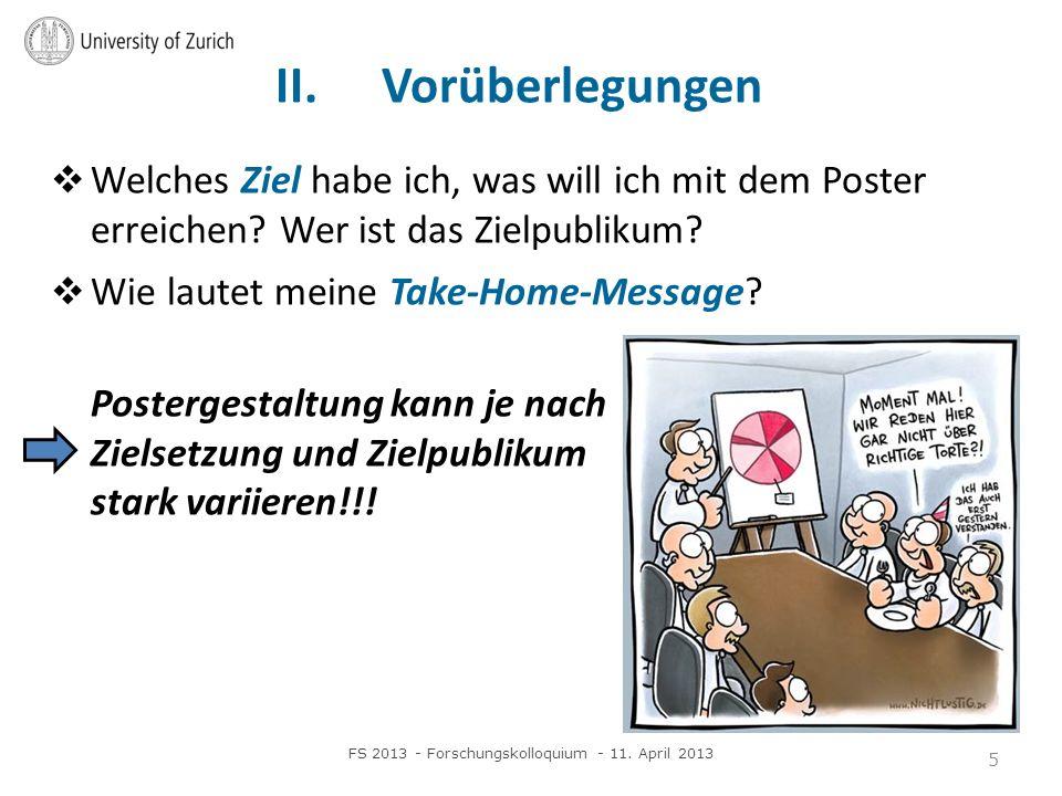 FS 2013 - Forschungskolloquium - 11. April 2013