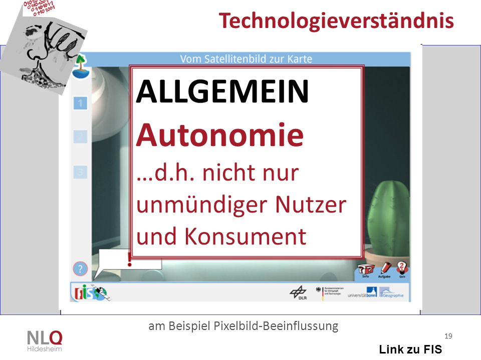 ALLGEMEIN Autonomie …d.h. nicht nur unmündiger Nutzer und Konsument