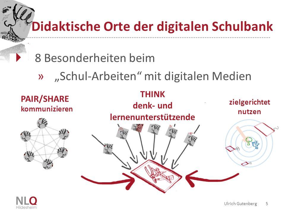 Didaktische Orte der digitalen Schulbank