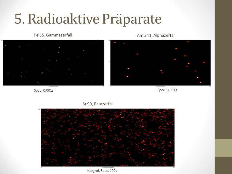 5. Radioaktive Präparate