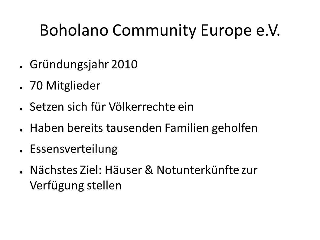 Boholano Community Europe e.V.