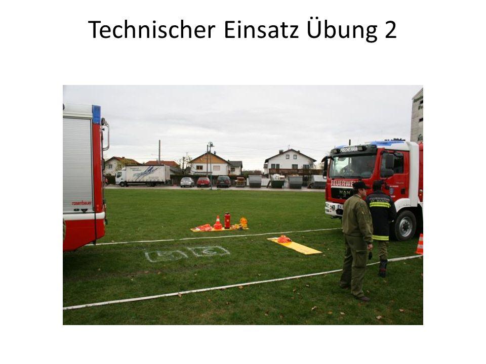 Technischer Einsatz Übung 2