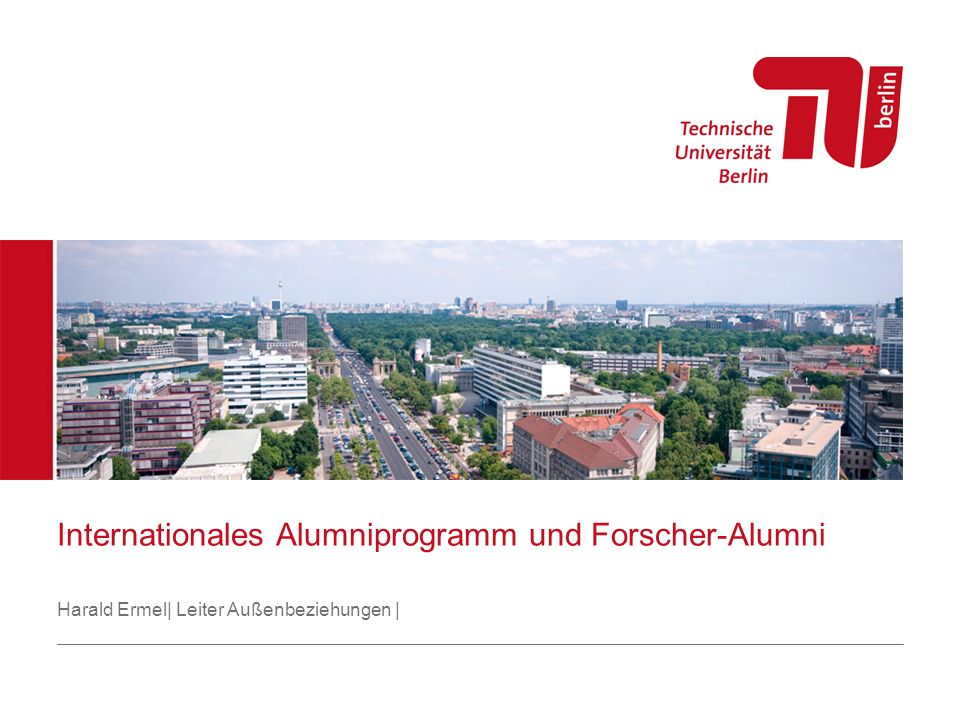 Internationales Alumniprogramm und Forscher-Alumni