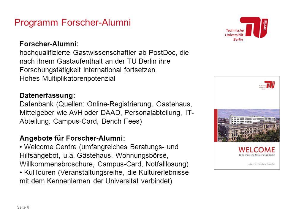Programm Forscher-Alumni