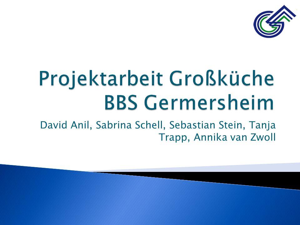Projektarbeit Großküche BBS Germersheim