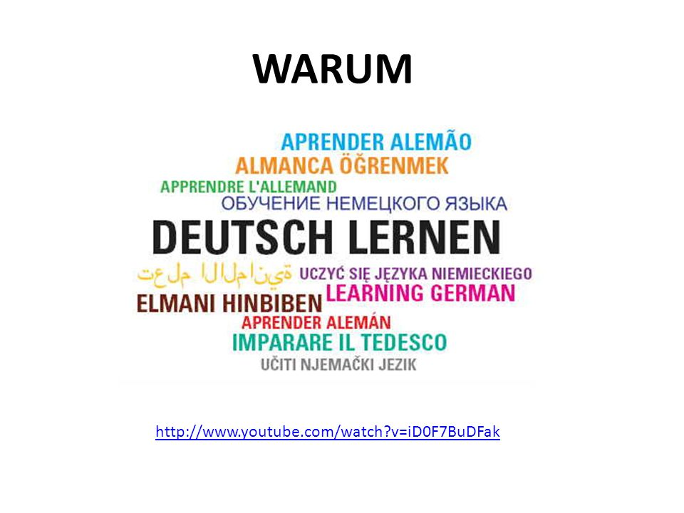 WARUM http://www.youtube.com/watch v=iD0F7BuDFak