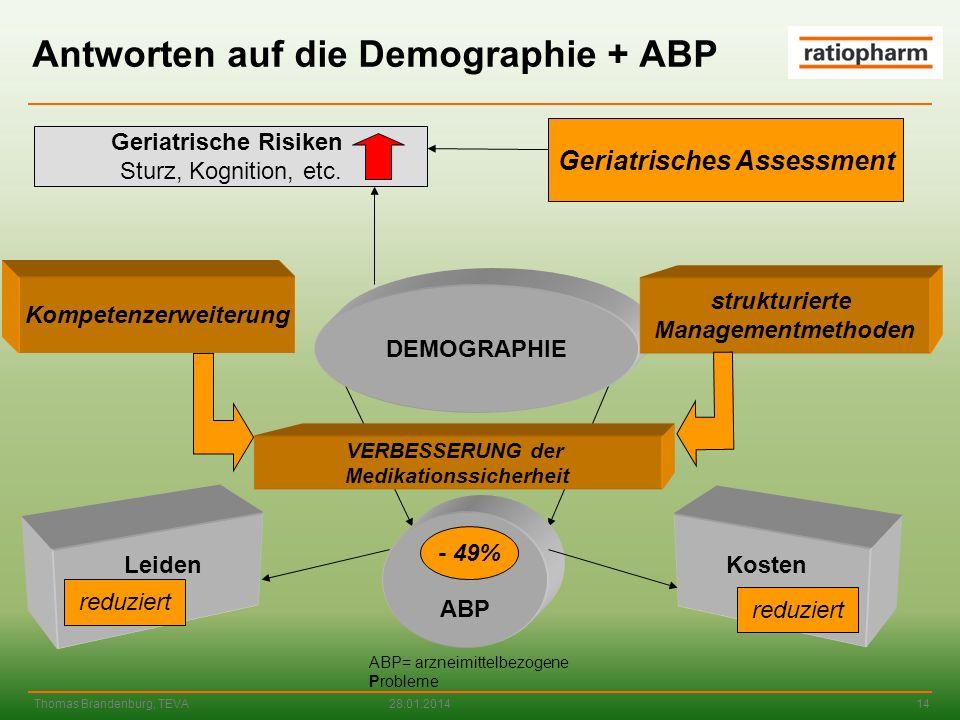 Antworten auf die Demographie + ABP