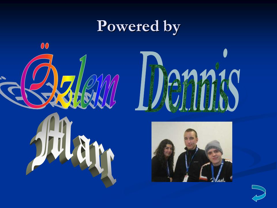Powered by Özlem Dennis Marc