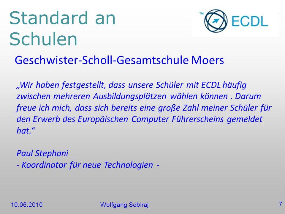 Standard an Schulen Geschwister-Scholl-Gesamtschule Moers