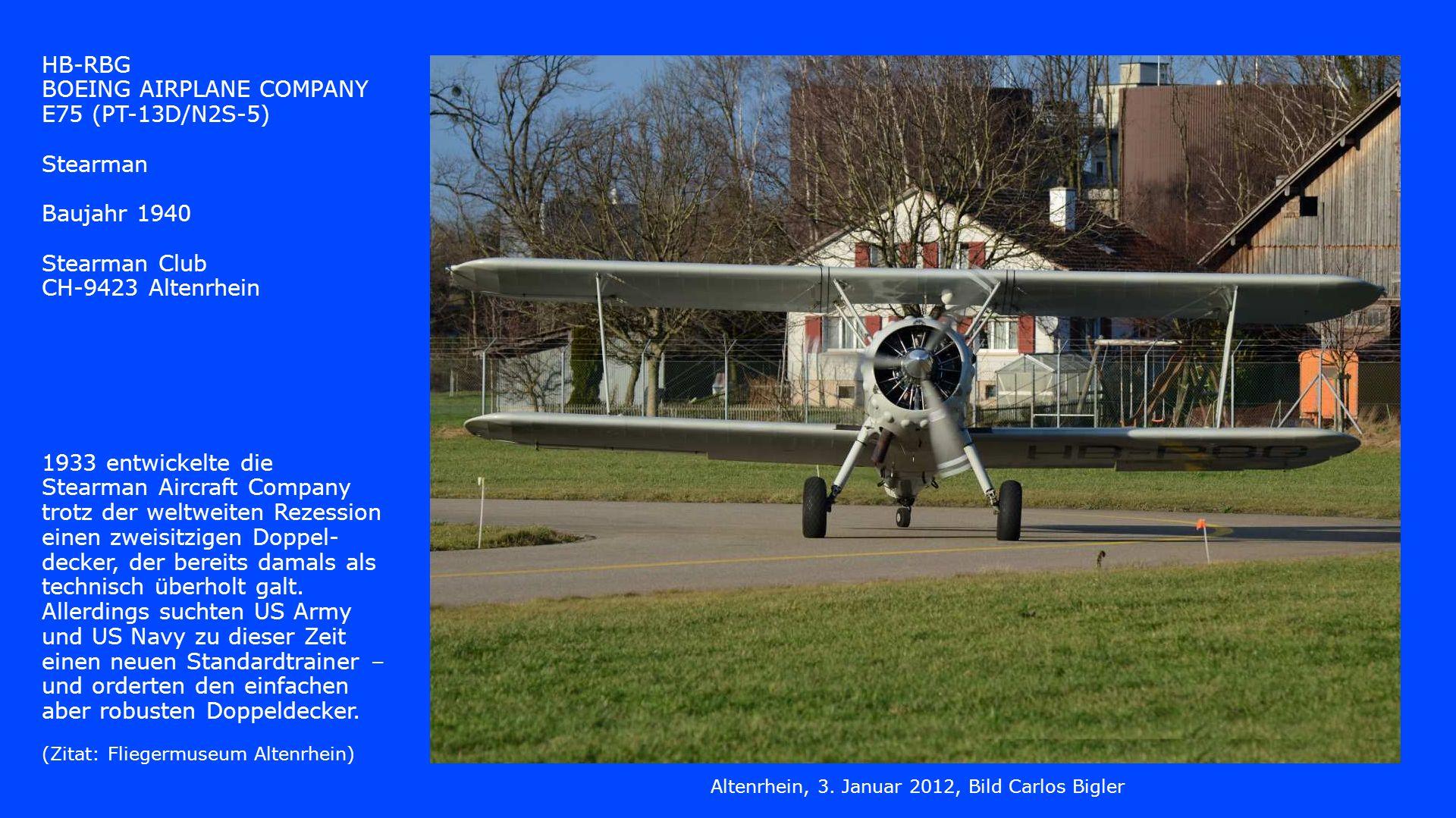 Altenrhein, 3. Januar 2012, Bild Carlos Bigler