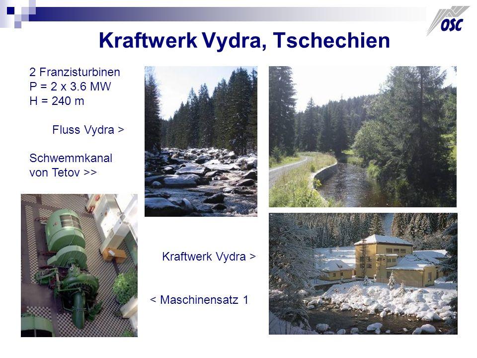 Kraftwerk Vydra, Tschechien