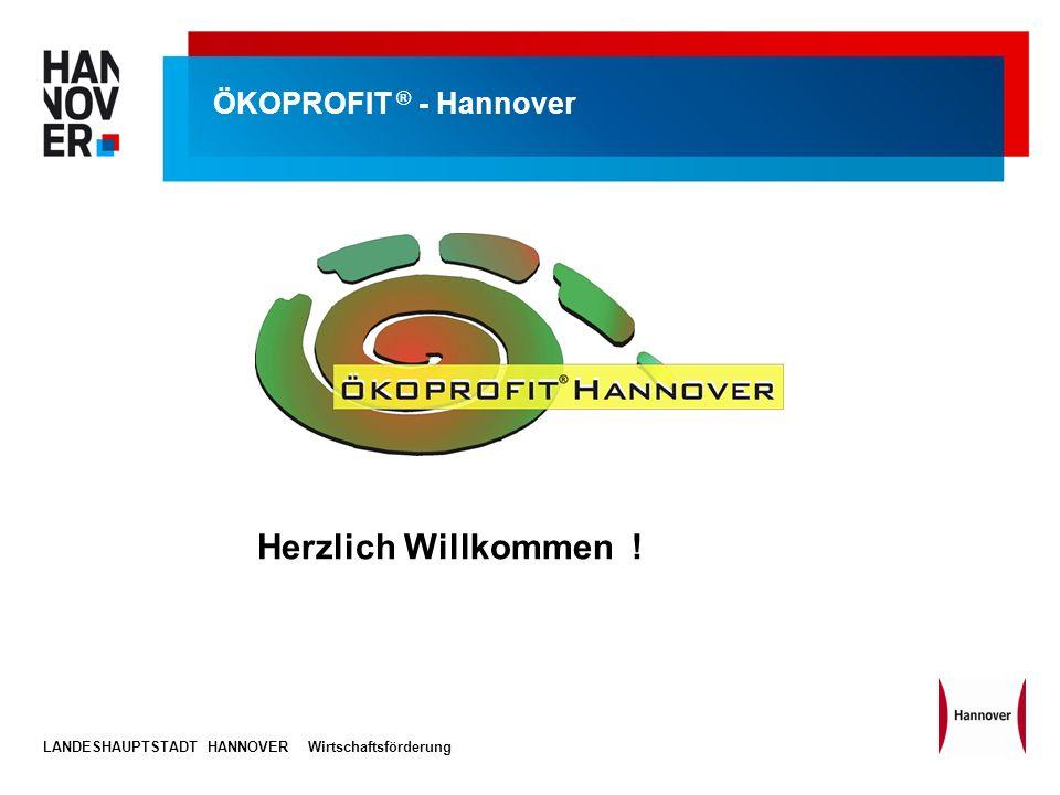 Herzlich Willkommen ! ÖKOPROFIT ® - Hannover